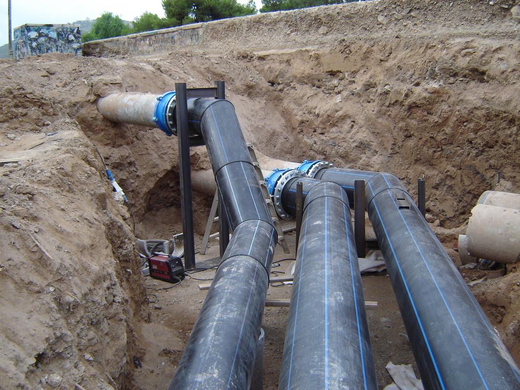 Desv o tuber as de bombeo benipila empresas e - Tuberia agua potable ...